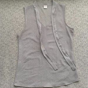 Twik Grey Sleeveless Blouse, XS 😍 3/$20